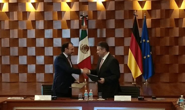 México y Alemania firman tratado de cooperación comercial