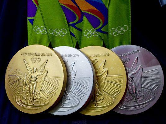 Denuncian mal estado en varias de las medallas entregadas en Río - Foto de Kirby Lee/USA Today