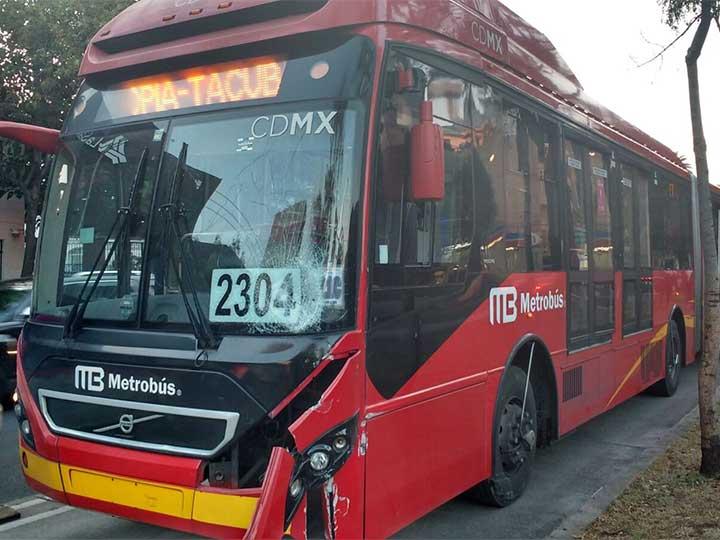 Metrobús interrumpirá circulación este sábado