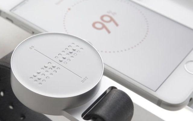 El primer smartwatch braille del mundo