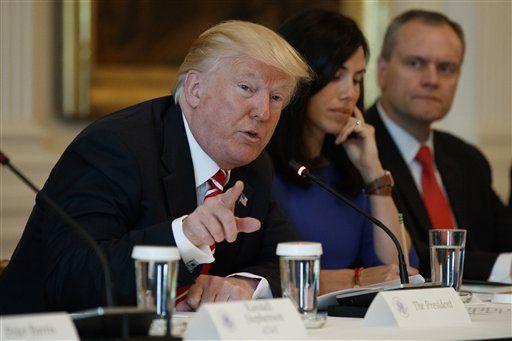 No grabé las conversaciones con Comey: Donald Trump - Donald Trump. Foto de AP