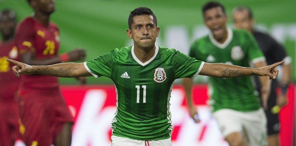 México vence por la mínima a Ghana - Foto de @TD_Deportes