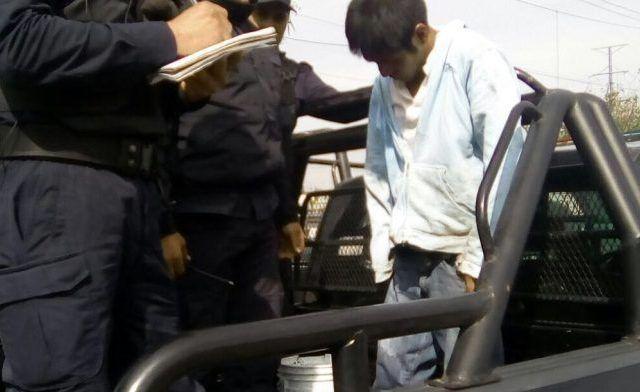 Intentan linchar a presunto delincuente en La Marquesa - Foto de Quadratín.