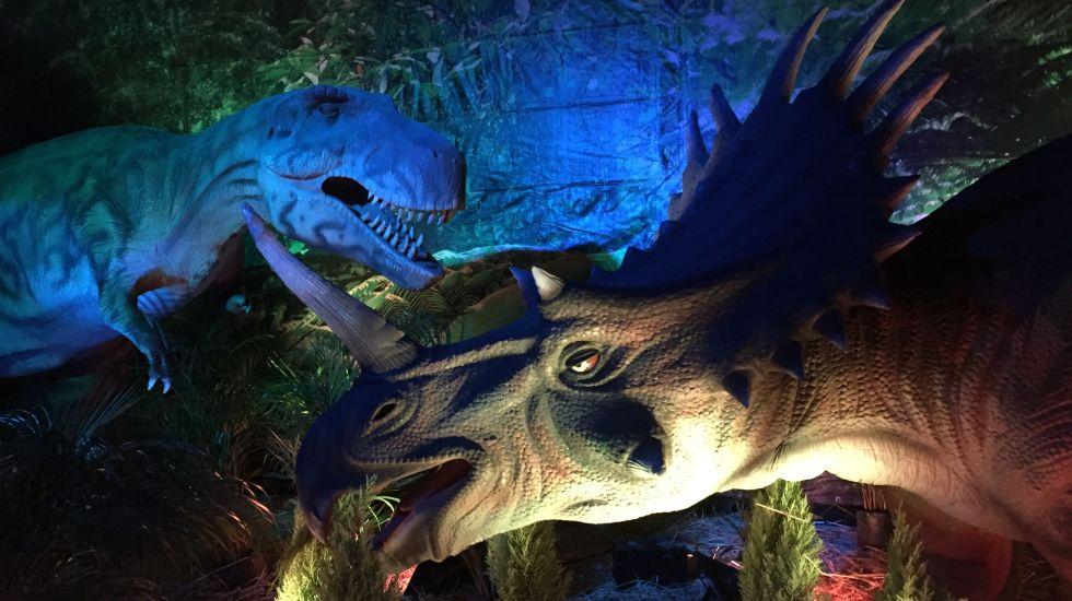 Regresan los dinosaurios a Naucalpan