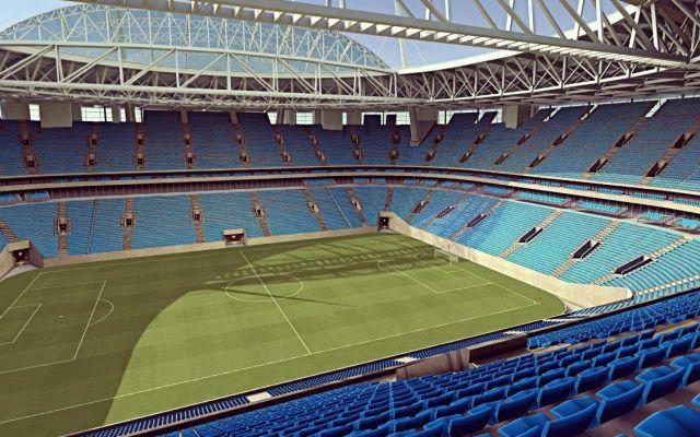 Presentan tarjeta de identificación para aficionados que asistirán al Mundial - La sede del partido inaugural será el Estadio Krestovski. Foto de Internet