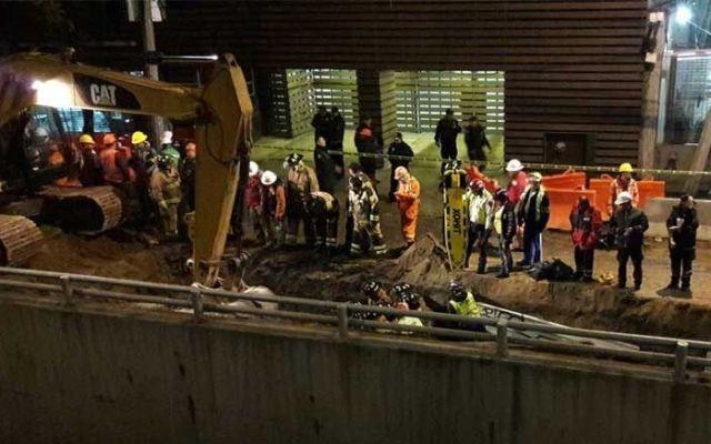 Muere trabajador tras derrumbe en Álvaro Obregón - Foto de Excélsior