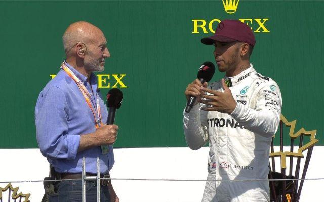 Lewis Hamilton gana el Gran Premio de Canadá - Foto de @F1