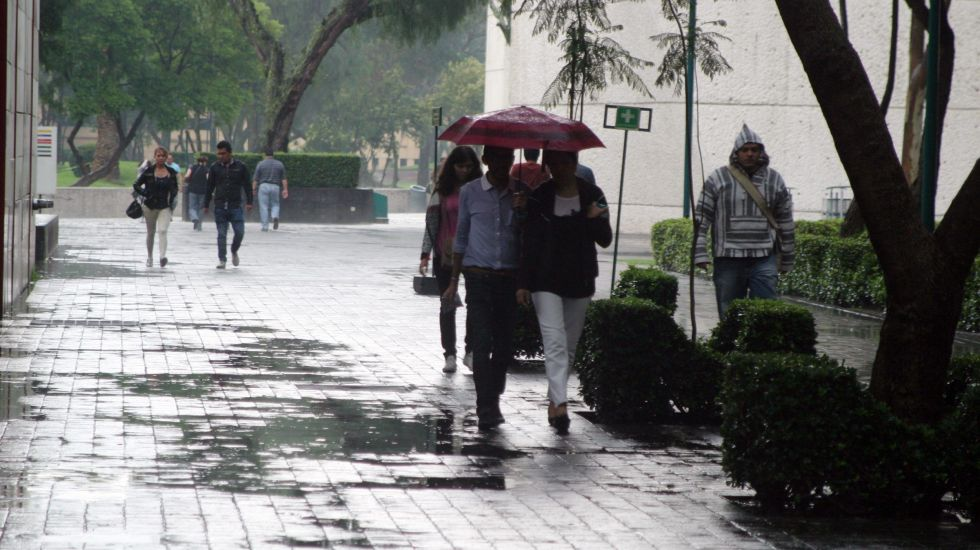 Prevén lluvias en al menos 14 estados del país - Foto de Notimex/Pedro Sánchez