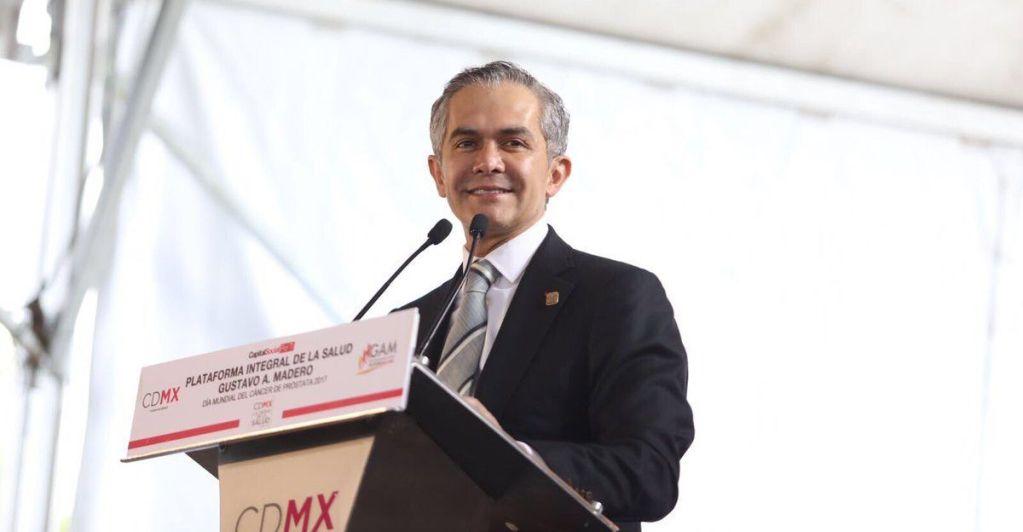 Descarta Mancera declinar su postulación como precandidato del Frente - Miguel Ángel Mancera. Foto de CDMX