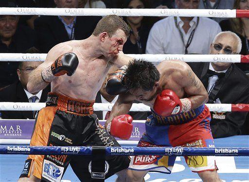 Pacquiao cae ante Horn por decisión unánime - Foto de AP/Tertius Pickard
