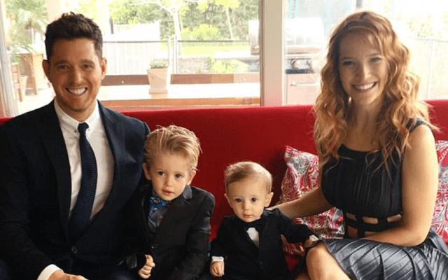 Hijo de Michael Bublé reaparece en foto familiar - Foto de Michael Bubblé