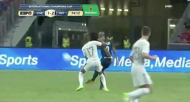 #Video Jugador del Inter mete autogol de 40 metros