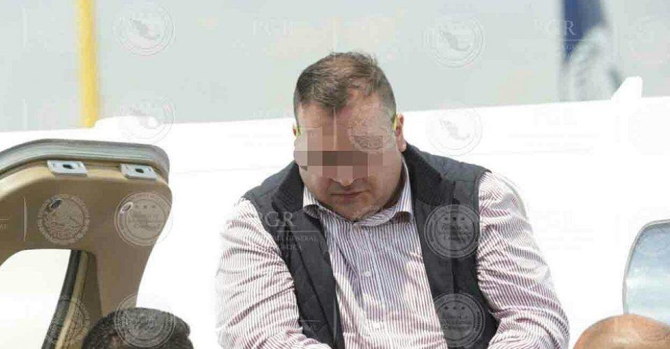 Duarte afirma que sus signos vitales disminuyeron por huelga de hambre - Foto de PGR.