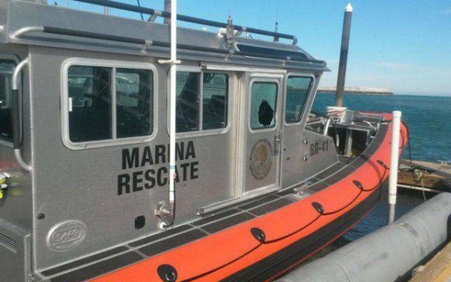 Rescatan embarcación con 11 personas a bordo en Veracruz - Foto de Quadratín.