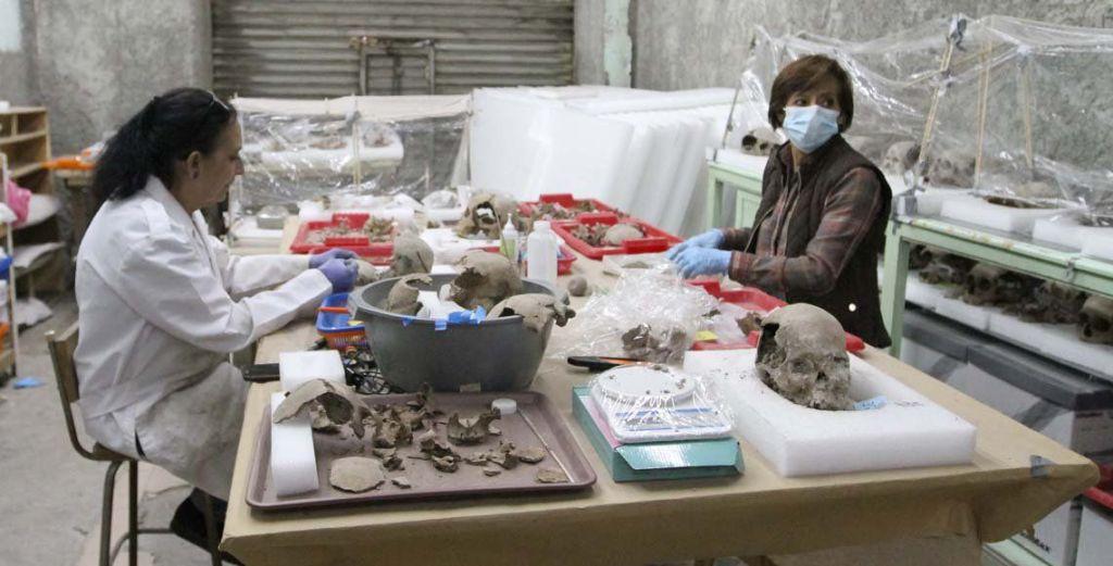 Reescriben la historia de Tenochtitlán con hallazgos del Tzompantli - Foto de Leo Casas/Quadratín México