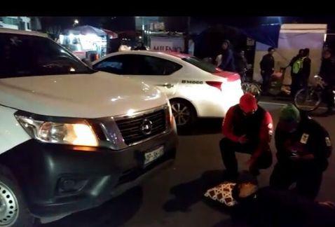 Atropellan a ciclista en Avenida Chapultepec