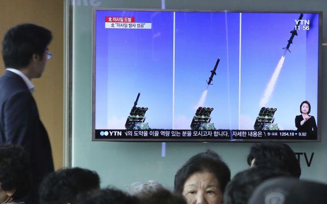Corea del Sur y EE.UU. realizan ejercicios con misiles balísticos - Foto de AP