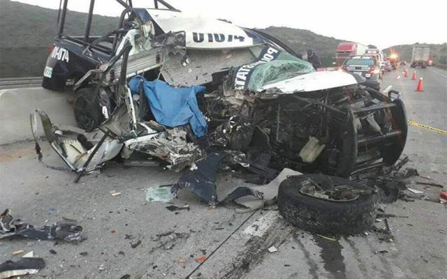 Muere en accidente delegado de la Policía Estatal de Hidalgo - Foto de Emmanuel Rincón