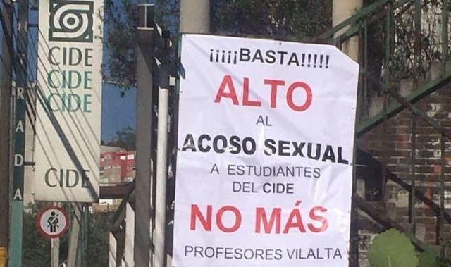 Renuncia profesor del CIDE tras acoso a alumnas - Foto de @edomexaldia