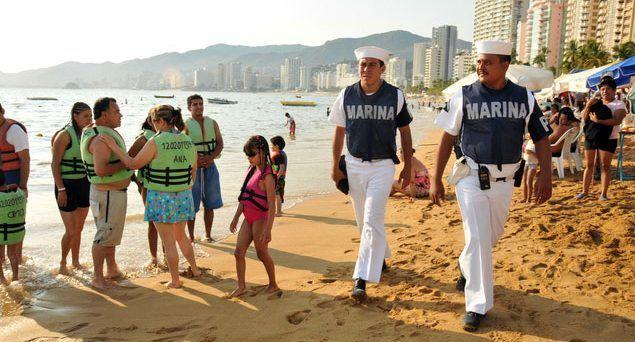 Marina pone en marcha Operación Salvavidas en Acapulco