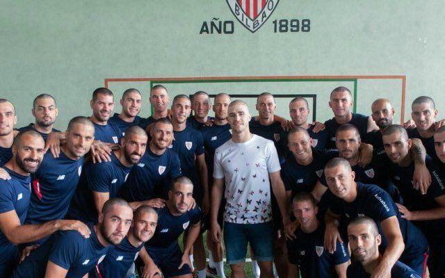 #Video Jugadores del Athletic se solidarizan con su compañero - Foto de Athletic Club