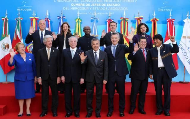 Países de Mercosur estudiará suspensión definitiva de Venezuela