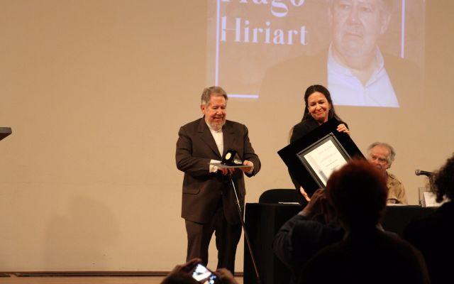 Otorgan a Hugo Hiriart Medalla Bellas Artes - Foto de UACM