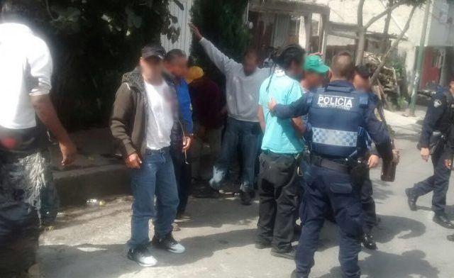 Detienen a más de 60 tras operativo en Tlalpan y Magdalena Contreras - Foto de SSP