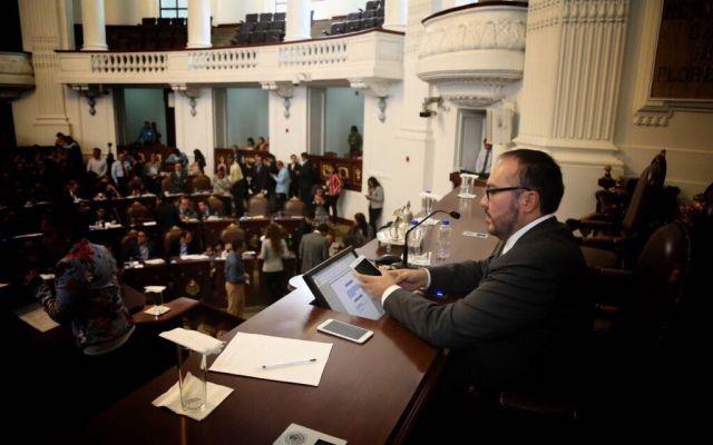 Asamblea Legislativa pedirá remoción de delegado de Tláhuac - Foto de Twitter Mauricio Toledo