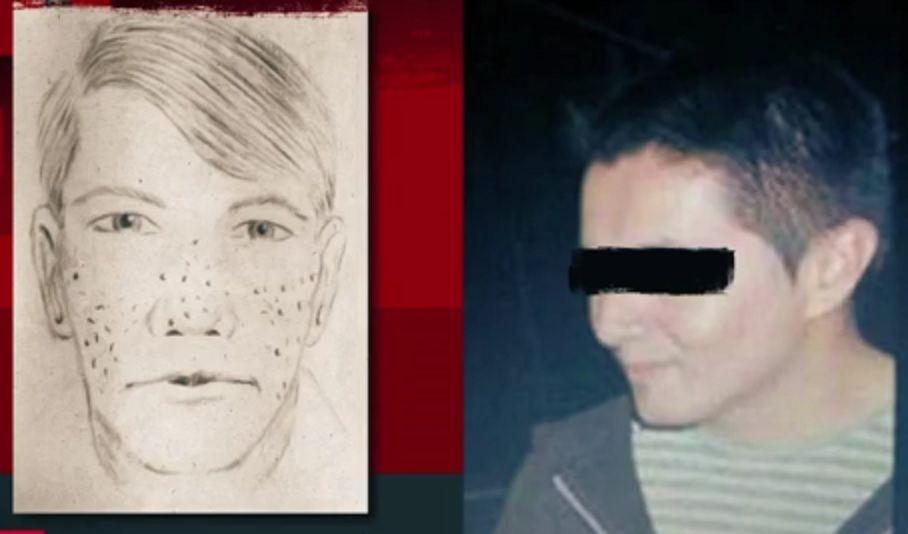 Revelan retrato hablado de presunto asesino de joven en Ecatepec - Foto de Noticieros Televisa