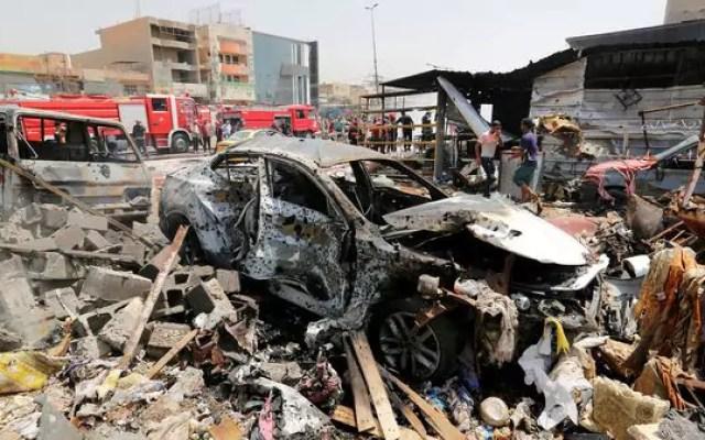 Atentado en mercado de Bagdad deja 12 muertos - REUTERS/Wissm al-Okili
