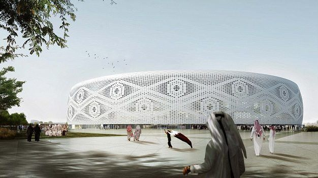 #Video Presentan proyecto de estadio mundialista de Catar