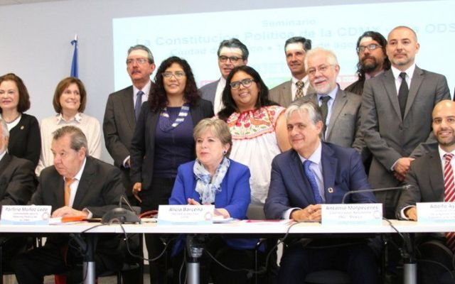 ONU y CEPAL reconocen sincronía de la Constitución de la Ciudad con Agenda 2030 - Foto de CEPAL