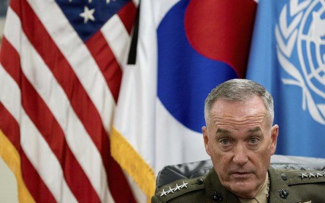 General de EE.UU. amenaza a Corea del Norte con atacar en caso de provocación - Foto de Andrew Harnik/AP