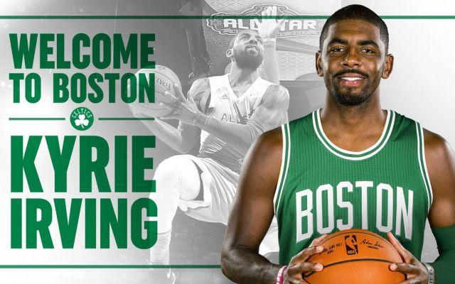 Kyrie Irving llega a los Celtics