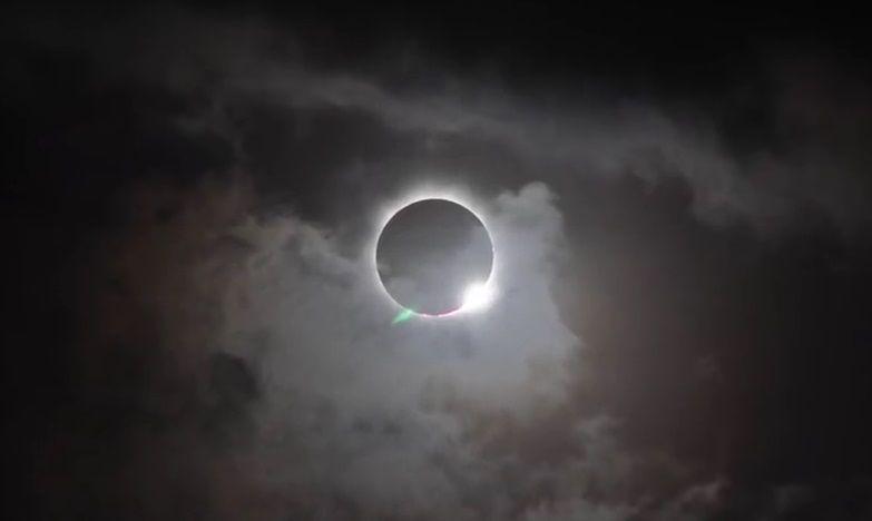 NASA estudiará el Sol durante eclipse total