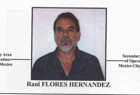 Narco ligado a Márquez y Julión era dueño de un equipo de futbol - Raúl Flores Hernández. Foto del Departamento del Tesoro de Estados Unidos