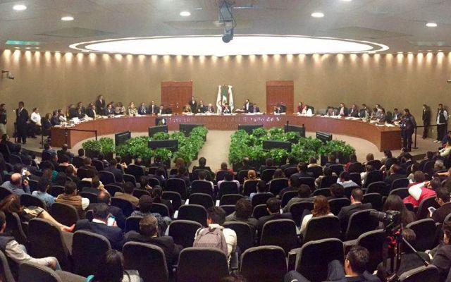 Impugnan convenio de candidaturas comunes en Edomex - Foto de @IEEM_MX