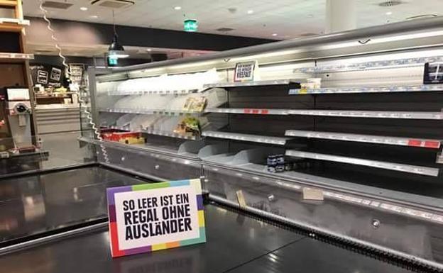 Así combate la xenofobia este supermercado alemán