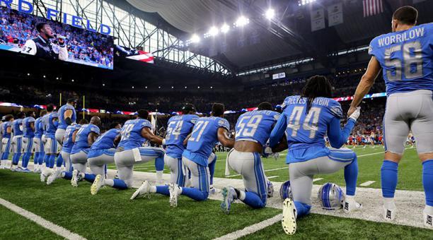 Dueños de equipos no temen a los jugadores: NFL a Trump