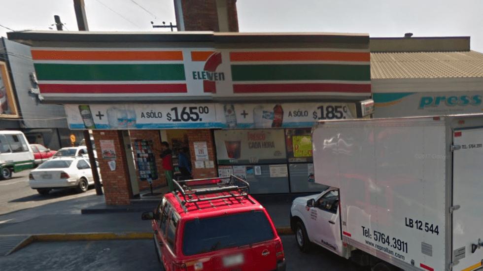 Cae señalado de asaltar 7-Eleven en Coyoacán - Foto de Google Maps