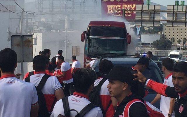 Se incendia camión del Necaxa