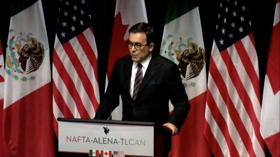 TLC depende de flexibilidad de países involucrados: Guajardo - Foto de Secretaría de Economía