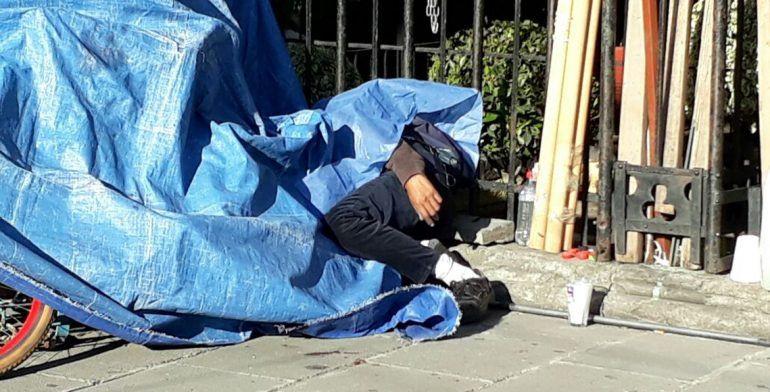 Hallan a hombre apuñalado en Paseo de la Reforma - Foto de Quadratín