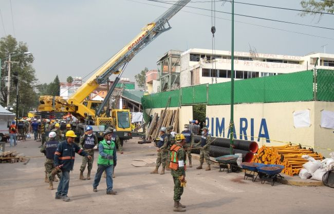 Desclasifican expediente del Colegio Rébsamen - Foto de Notimex