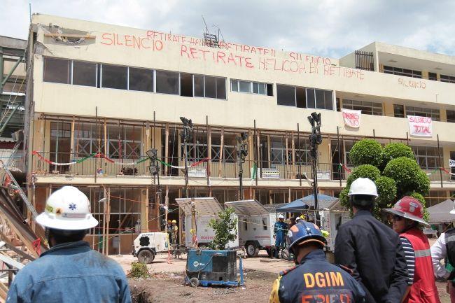 Dan diez días a delegación Tlalpan para dar datos sobre el Rébsamen - Foto de Notimex