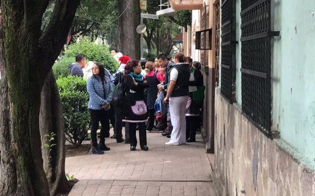 Evacuan guardería en la Miguel Hidalgo por fuga de gas - Foto de Ricardo Vitela