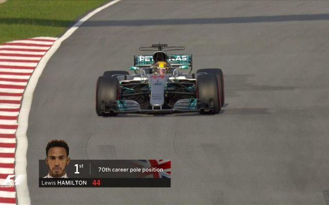 Hamilton logra la pole position del GP de Malasia - Foto de @F1