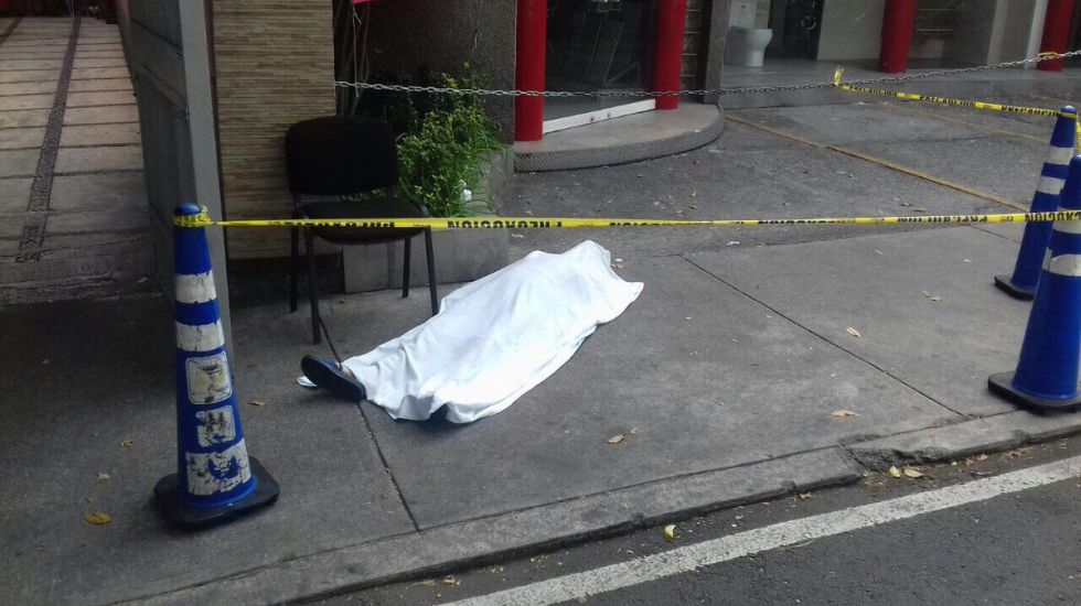 Mueren dos mujeres por infarto tras sismo en la Ciudad de México - Foto de Twitter