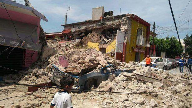 En Jojutla los daños son visibles: vocero - Ayuntamiento de Jojutla. Foto de El Sol de Cuernavaca